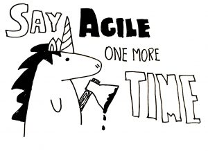 Say Agile one more time