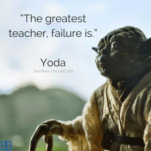 The greatest teacher, failure is